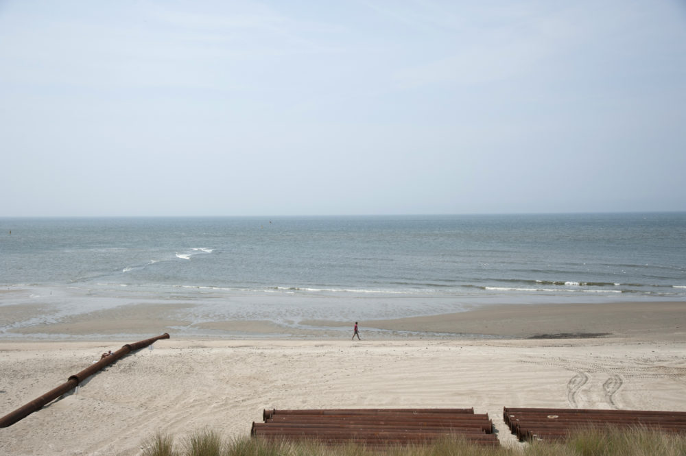 Strand Texel op gewenste breedte