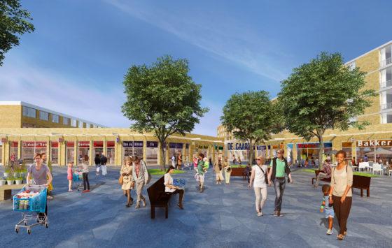 Brugklassers ontwerpen speelplek voor 'nieuw' winkelcentrum Utrecht