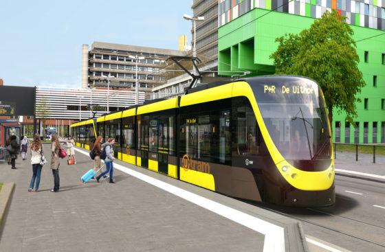 Aanleg tramlijn Utrecht Centraal en De Uithof vordert gestaag