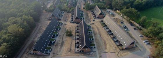 Typisch Van Wijnen-woonwijkje in Ermelo: Groevenbeek