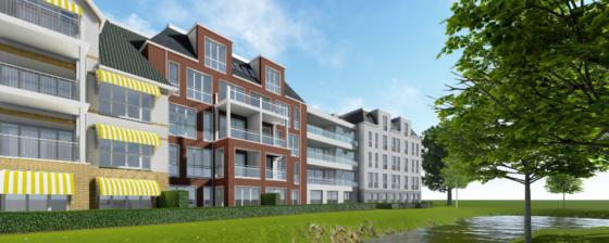 Résidence Vijverpark: vijf architectuurstijlen, één gebouw