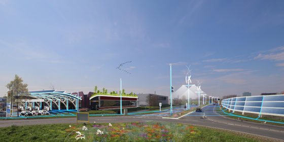 Energy-weg N470 moet nog groener