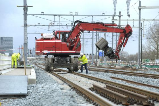 Fors meer werk aan spoor in 2017