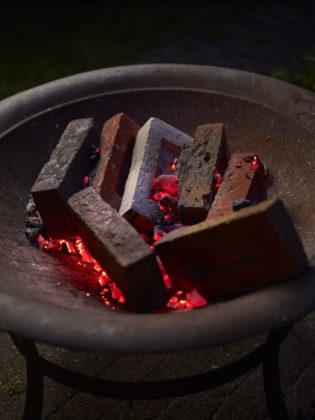 Veldbrand-gevelbakstenen vol nostalgie
