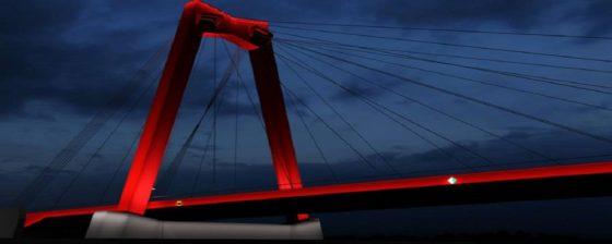 Opknapbeurt voor Willemsbrug Rotterdam