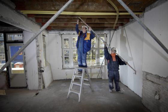 Omzet burgerlijke en utiliteitsbouwers groeit 36 procent in drie jaar tijd