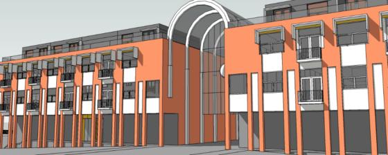 Starterswoningen in kantoren Zoetelaarpassage Almere