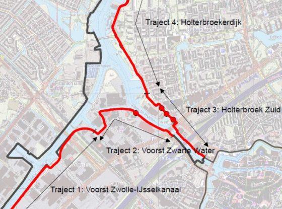 Waterschap Groot Salland pakt 100 kilometer dijk aan