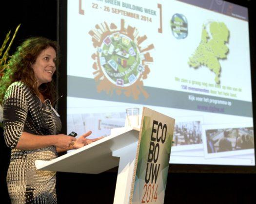 Dag 1 Ecobouw in beeld