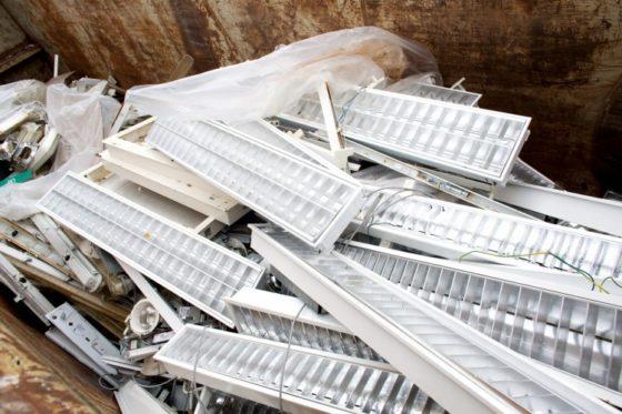 Offensief om meer verlichting te recyclen
