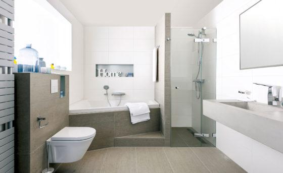 Wedstrijdje badkamer opknappen in één dag - Cobouw.nl