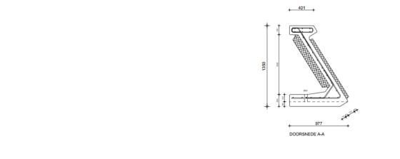 Octrooi: Beloopbaar geluidsscherm ook als noodperron te gebruiken