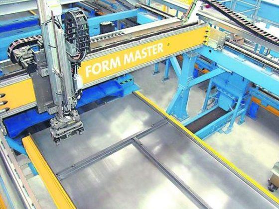 BIM-bestand stuurt robot in betonfabriek aan