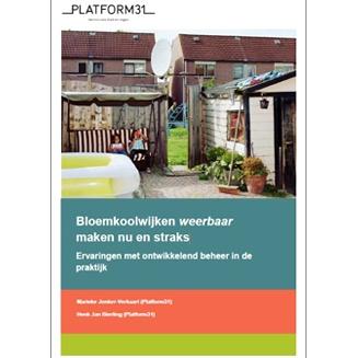 Aanpak bloemkoolwijken vereist modern scenario