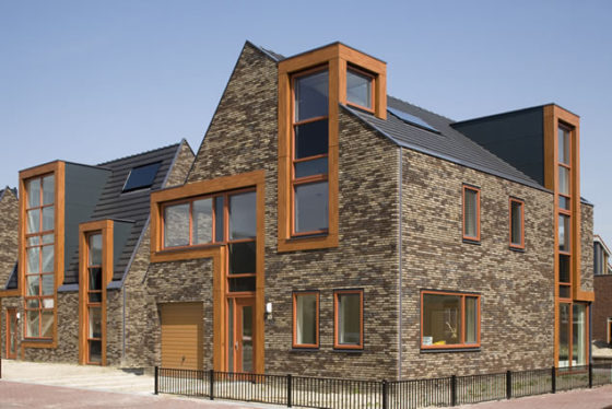 VKG Architectuurprijs 2009 voor eilandwoningen in Hoofddorp