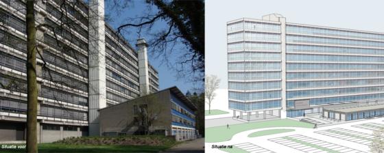 Nieuwe functie hoogste gebouw campus UT Enschede