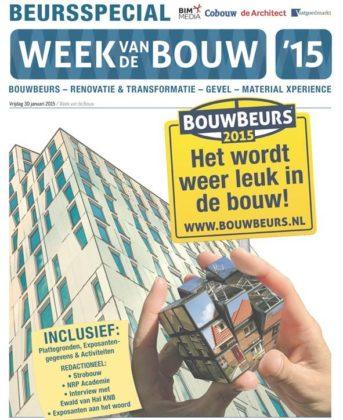 Week van de Bouw catalogus vol informatie over komende beurs
