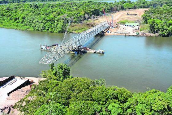 Solide Eurocode-brug voor Suriname