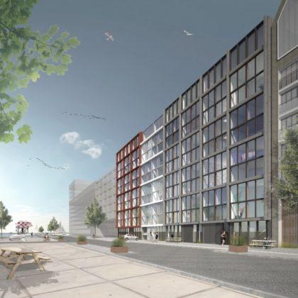 Zelfbouw lofts van start in Houthaven Amsterdam