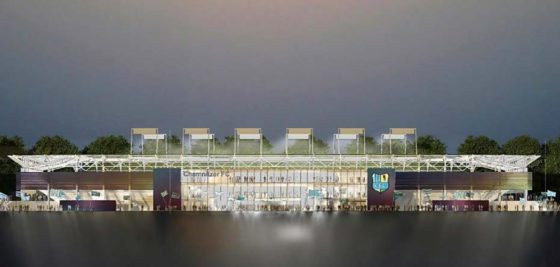 BAM pakt stadion Chemnitzer FC aan