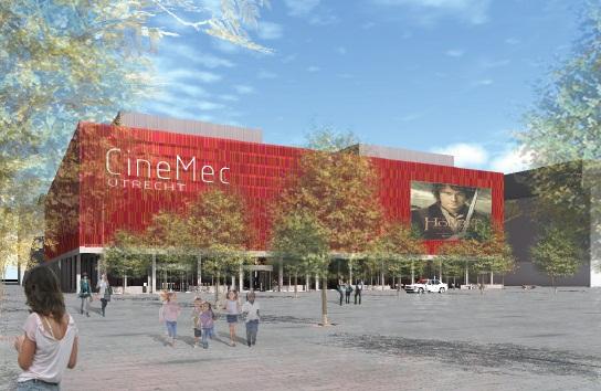 Dura Vermeer bouwt bioscoop in Utrecht