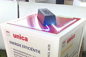 Climate Control Box spaart winkelbedrijf energie