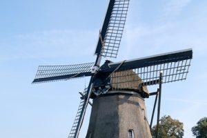 Klassieke poldermolen verbouwd tot turbine