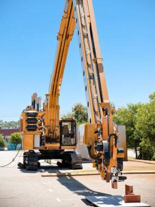 Australische robot metselt duizend bakstenen per uur