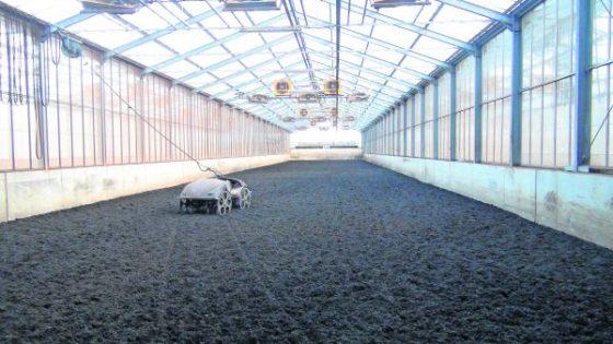 Slib drogen in kas goedkoop alternatief voor dure installaties