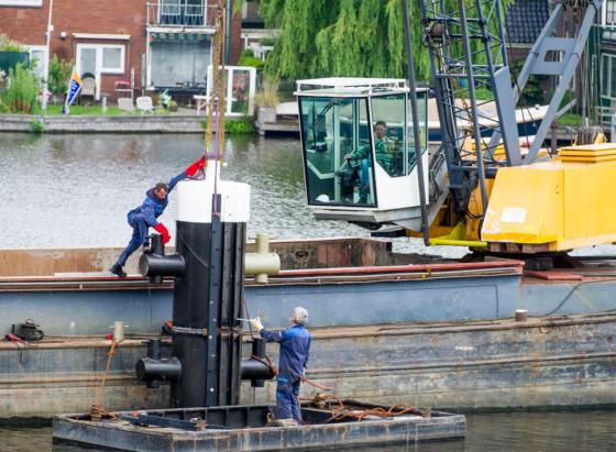 XL: Nieuwe dukdalven Julianabrug
