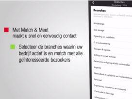 Ondernemers kunnen nu ook daten via App van Evenementenhal