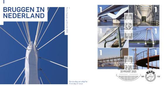 Bruggen sieren tien nieuwe postzegels