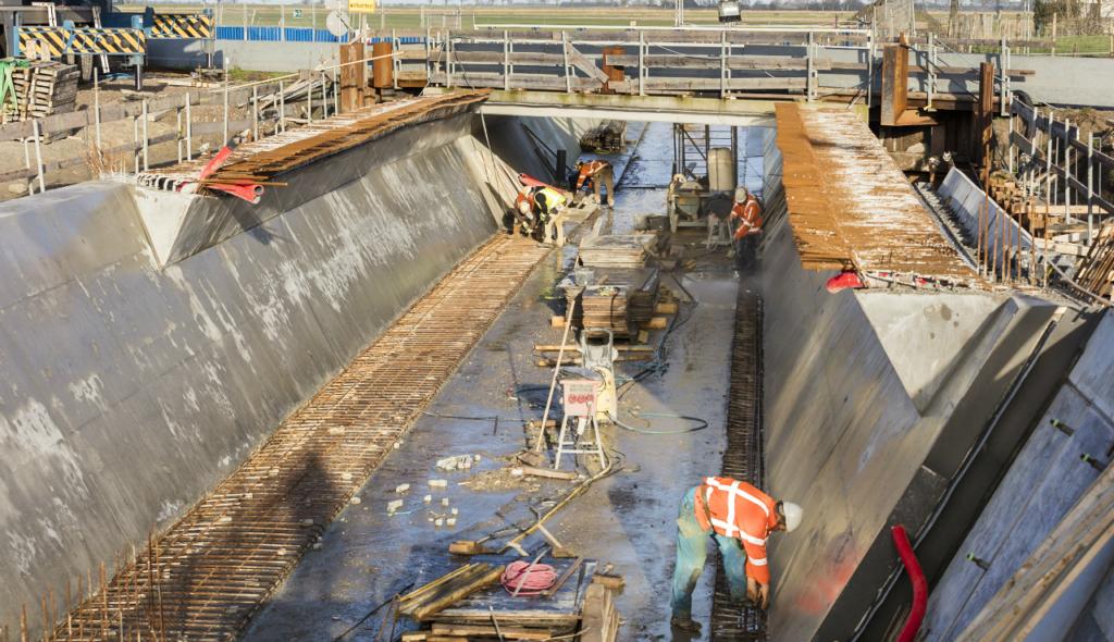 Fietstunnel Schagen krijgt gestalte