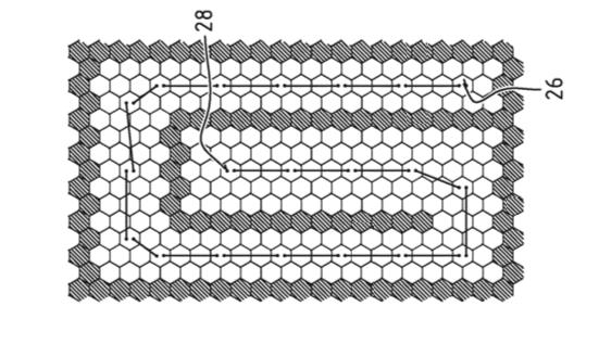 Honingraatstructuur dient als warmteopslag en fundering