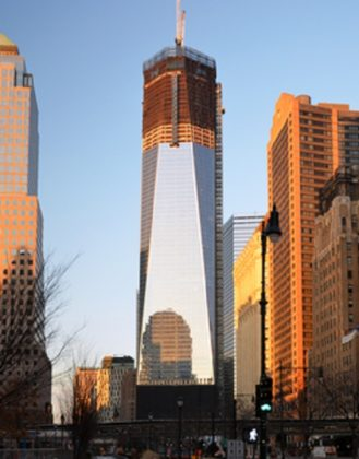 WTC in acht jaar hoogste gebouw in New York