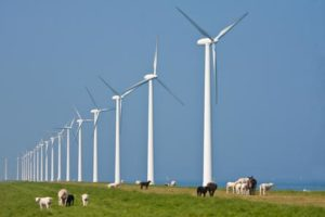 Mannen vast voor bedreigen bouwers windmolenparken