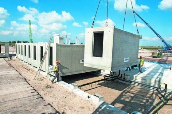 Gevangenis uit prefab betoncellen