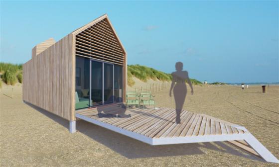 GreenHuus: geheel zelfvoorzienende vakantiewoning