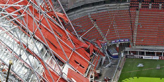 Bouwers kopen vervolging af na instorten dak FC Twente-stadion