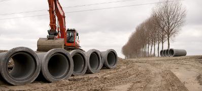 Werkvoorraad grond- en waterbouw in stroomversnelling