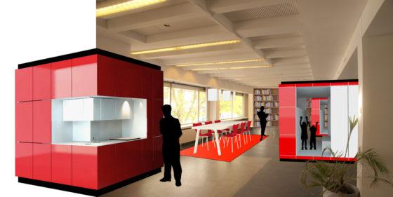 Hub maakt snel woning van kantoor