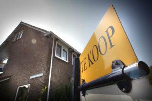 Aantal woningverkopen neemt met 2 procent af