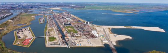 Amsterdam legt alsnog Middeneiland aan in IJmeer