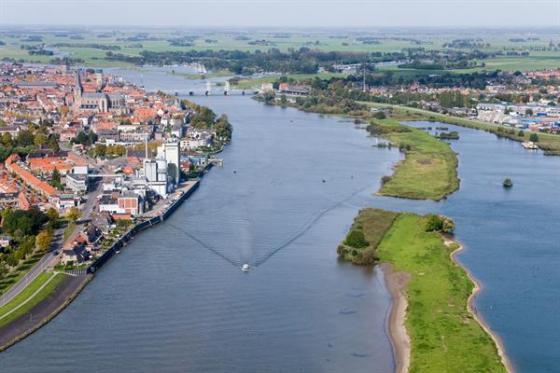Witteveen+Bos geeft IJssel bij Kampen ruimte
