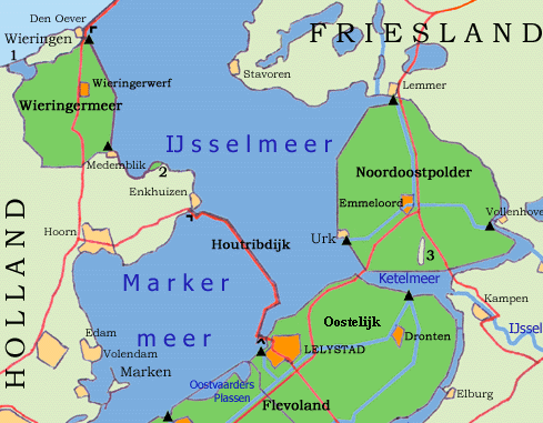 'Peilstijging IJsselmeer van 1,5 meter niet nodig'