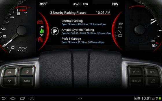 Navigatiesysteem zoekt automatisch parkeerplek