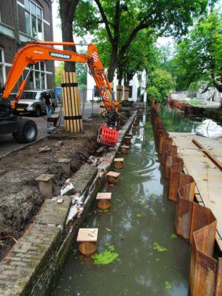 Bomen vragen omgekeerde aanpak bij herstel historische kademuren