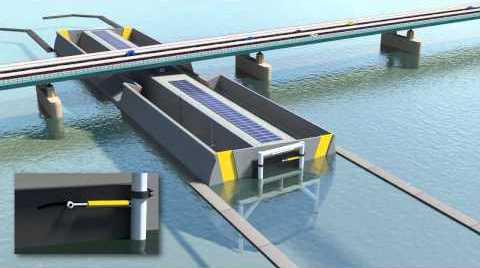 Zeiler's idee: laag water onder brug