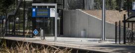 Keerwanden voor nieuwbouw station Bussum Zuid