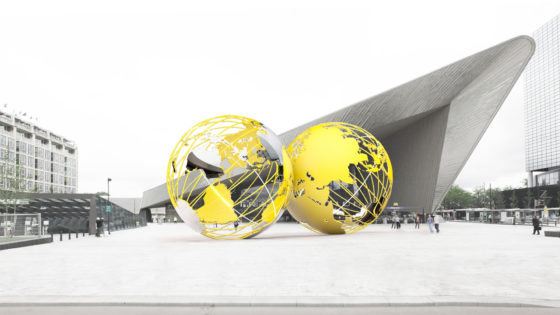 Uitstel voor Rotterdamse wereldbollen
